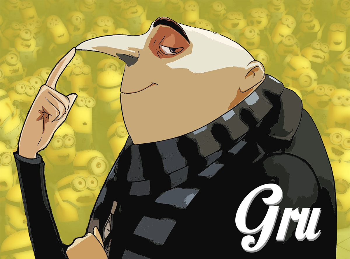 gru clipart despicable me - photo #27